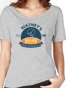 Watney's martian survival camp Women's Relaxed Fit T-Shirt