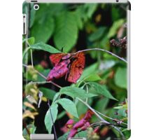red leafed iPad Case/Skin