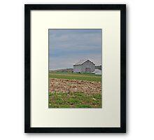Barn in October Framed Print