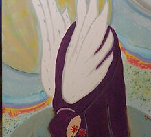 """Sofiel - Angel of Nature"" by Lynn Ahern Mitchell"