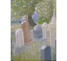 The Cemetary in Paradise Valley Nevada Photographic Print