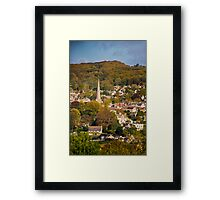 Autumn in Painswick, Cotswolds, England Framed Print
