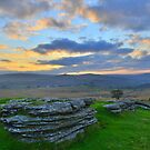 Dartmoor: Early Morning at Barn Hill Rocks by Rob Parsons