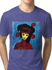 She Walks In Beauty Tri-blend T-Shirt