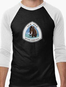 Ice Age Trail Sign, USA Men's Baseball ¾ T-Shirt