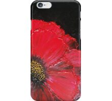 Red Poppy iPhone Case/Skin