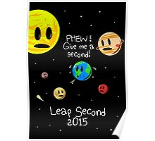 Leap Second 2015 Poster