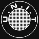 UNIT Retro White Small Logo by Christopher Bunye