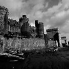 Wrecks By The Castle by Coyroy
