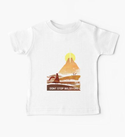 Journey On and On Baby Tee