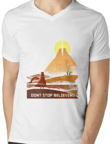 Journey On and On Mens V-Neck T-Shirt