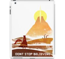 Journey On and On iPad Case/Skin