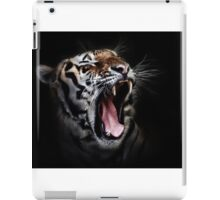 Tiger black iPad Case/Skin