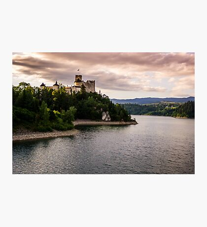 Dunajec Castle in Niedzica Photographic Print