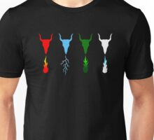 Know Your Dragon - Fire, Electric, Gas, Ice Unisex T-Shirt