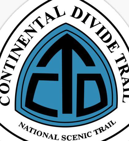 Continental Divide Trail Sign, USA Sticker