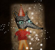 My Grunge happy birthday Fox Boy by Ruth Fitta-Schulz