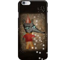 My Grunge happy birthday Fox Boy iPhone Case/Skin