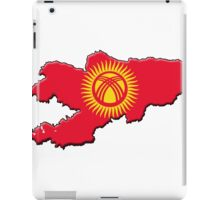 Kyrgyzstan Flag and Outline iPad Case/Skin