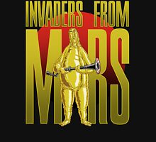 INVADERS FROM MARS TEXT Unisex T-Shirt