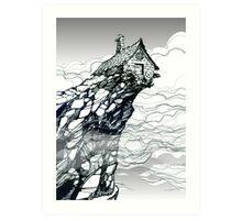 The Strange High House In The Mist Art Print