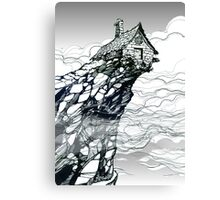The Strange High House In The Mist Canvas Print