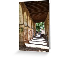 The Mission Arches Greeting Card