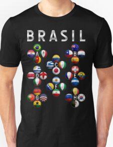 Brasil - World Football or Soccer - 2014 Groups - Brazil T-Shirt
