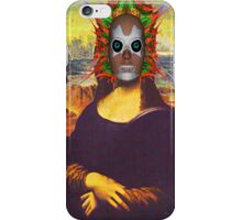 Cyborg Mona Lisa iPhone Case/Skin