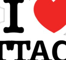 I Love ATTACK Sticker