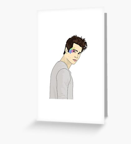 Dylan O'Brien Puzzle Greeting Card