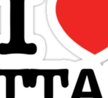 I Love ATTAH Sticker