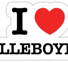 I Love MALLEBOYINA Sticker