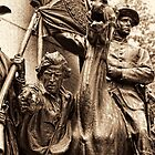 Virginia Monument Gettysburg by Nigel Fletcher-Jones