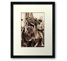 Virginia Monument Gettysburg Framed Print