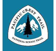 Pacific Crest National Scenic Trail Sign, USA Photographic Print