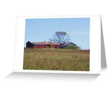 GUESS WHAT?  ANOTHER OLD BARN! Greeting Card
