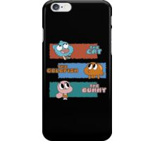 The Cat, The Goldfish and the Bunny iPhone Case/Skin