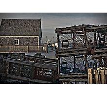 Lobster Traps In Sambro, Nova Scotia, Canada Photographic Print