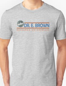 Doc Brown Research Unisex T-Shirt