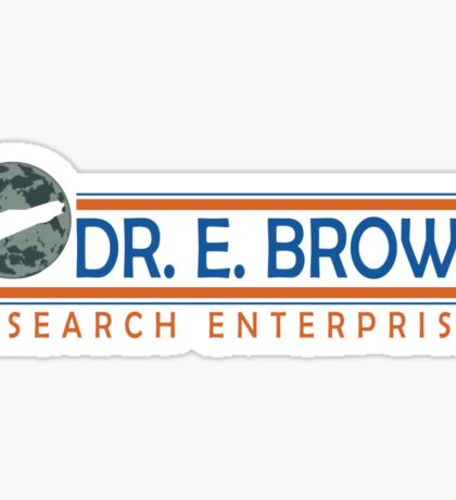 Doc Brown Research Sticker