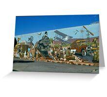 Alice Springs Mural  Greeting Card