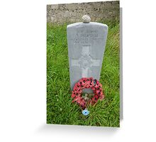 A Resting Place In Ireland Greeting Card