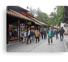 Sarajevo shops Metal Print