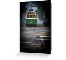 No 30 Tram Greeting Card