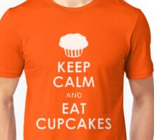 Keep Calm eat Cupcakes Unisex T-Shirt