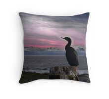 The Fisherman Rests Throw Pillow
