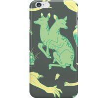 Oddity Pattern - Green iPhone Case/Skin