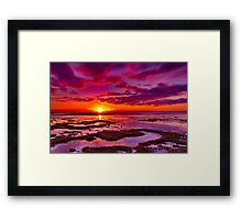 """Roadknight Daybreak"" Framed Print"