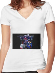 Autobot Women's Fitted V-Neck T-Shirt
